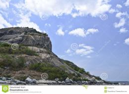 Rock Mountain On A Sea,Huahin Thailand Stock ImagesImage: 24990274 982