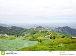 Eastern Mountain Landscape In Thailand Royalty Free Stock Photos 349