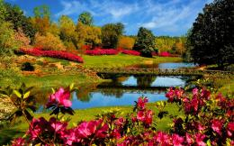 :www kucuu com Nature USA mirror lake spring desktop 1440x900 html 1091