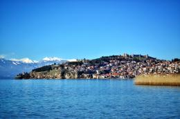 Lake Ohrid Macedonia is a great starting point for bicycle touring 1377