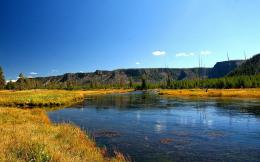 Madison River Yellowstone Park fly fishing today HD wallpaper 1878