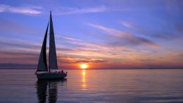 boats silboat boats ship sailing ocean sea sky clouds sunset sunrise 146
