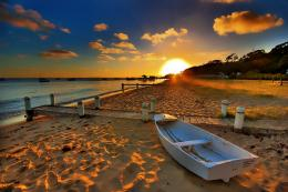 wallpaper strand australien beach boat wallpaper australian sunsets 1176