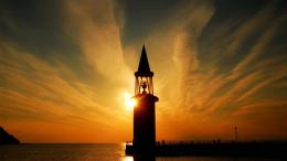 Magnificent lighthouse at dawn 119