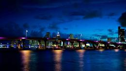 Download Magnificent Miami at night wallpaper in CityWorld 1127
