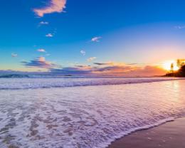 Chaweng beach in dawn wallpaper 537