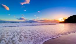 Download Chaweng beach in dawn wallpaper in Nature wallpapers with all 1389