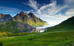Magnificent mountains and rivers 50459LandscapesLandscape 1730