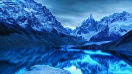 Magnificent snowy mountains wallpaper 1378