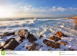 Magnificent Sunset On Sea Royalty Free Stock PhotosImage: 20503408 384