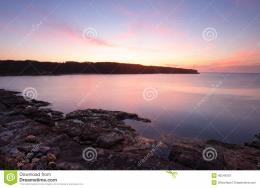 Magnificent sunrise at Botany Bay NSW AusraliaThe bay was so calm 486