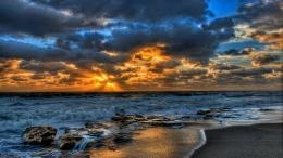 Ocean Sunset Desktop Wallpaper, Ocean Sunset Images | Cool Wallpapers 1062