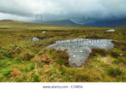 Stormy Weather Over Connemara Countrside, Doolough Valley, County 1305
