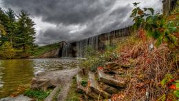 Falls Over A Dam HdrHD Wallpaper, get it now! 1225