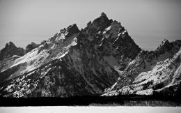 mountains landscape bw black white wallpaper 1920x1200 72764 mountains 866