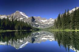 lakes mountains water scenery wallpaper lake mountain reflection 1401