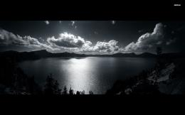 monochrome mountain lake scenery wallpaper 953271 monochrome mountain 663