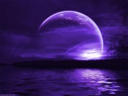 FunMozar – Purple Moon Wallpapers 816