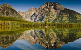 reflection forest lake landscape mountains nature water 226