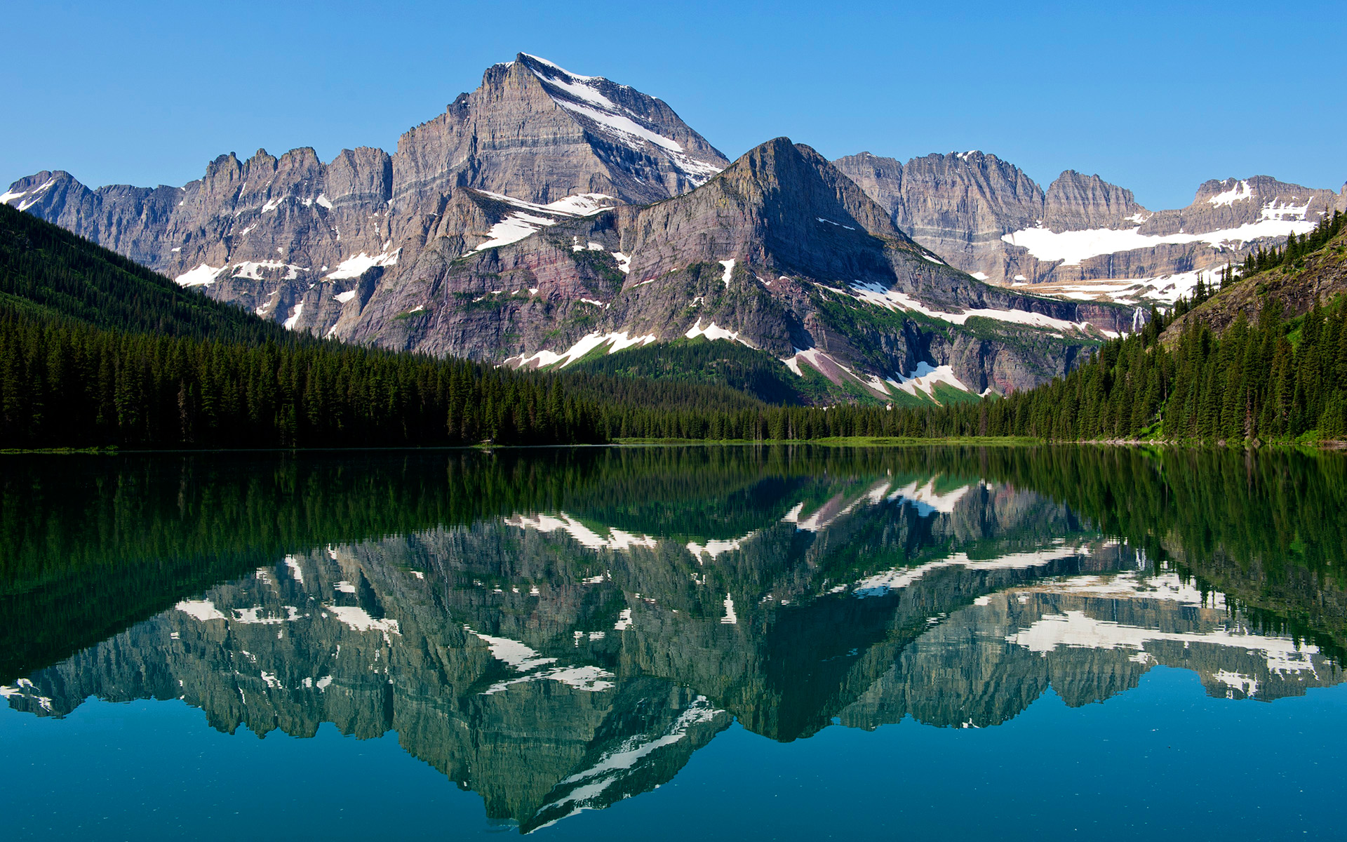 Mountain Lake Reflections Wallpapers | HD Wallpapers 318