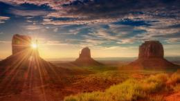 Monument valley desert utah sun light nature HD Wallpaper 748