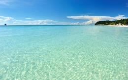 Crystal Clear Beach Ocean Philippines | wallpaperswiki com 1945