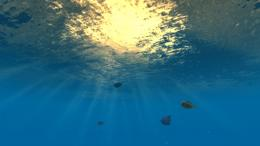 Under water ocean surface shader 533