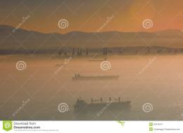 Sunset Mist Royalty Free Stock PhotographyImage: 20476417 1619
