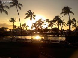 Hawaii Sunset from Waikoloa Beach MarriottHawaii Pictures 1615