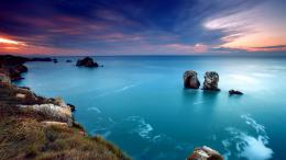 Download Peaceful rocky shore wallpaper in Nature wallpapers with all 801