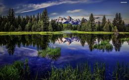 Perfect reflection in the lake wallpaper #4376 1608