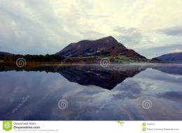 Perfect Reflections In Mountain Lake Stock PhotoImage: 1824510 343