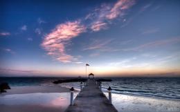 Download: Sunrise at the Pier HD Wallpaper 438
