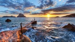 Download Pier on morning sunrise High quality wallpaper 1275