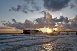sunrise report pic caption sunrise behind the pier on a spring morning 1594