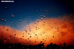 Raindrops On A Window Pane At Dusk Image Paul Moane | HD Wallpapers 1040