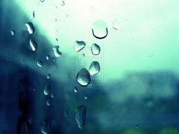 Blue Raindrops on Window by ArtmasterRich on deviantART 1988