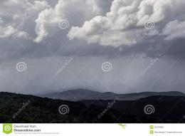 Storm clouds roll over central vermont toward the state capitol 1098