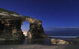 HOW TO GET THERE : Plaaya de las catedrales is situated between Foz 1506
