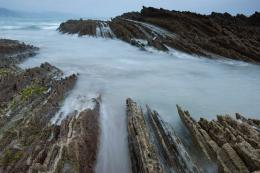 Flysch Rock Formation in Zumaia, Spain | When On EarthFor People 1834