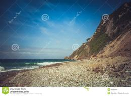 Rock Beach In Northern SpainStock PhotoImage: 42839588 845