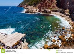 Estellencs Rock Beach, Mallorca Royalty Free Stock ImageImage 874