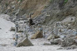 PanoramioPhoto of Stacked Rocks at Pfeiffer Beach 1639