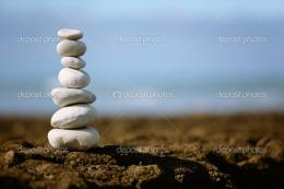 Stacked rocks — Stock Photo ©luSh#2399213 813