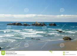 Rock Stack And Beach Royalty Free Stock ImageImage: 21736886 1914