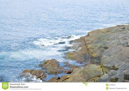Rocky Seashore Of Cape Spear Royalty Free Stock PhotoImage 1183