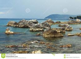 Rocky Seashore Stock PhotoImage: 60086798 1157