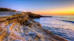 Wallpaper Beautiful Rocky Seashore HD San DiegoNear of San Diego 1203