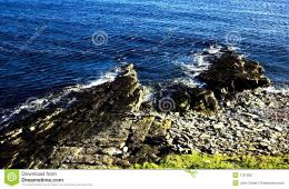 Rocky Seashore Stock PhotographyImage: 7161292 1784