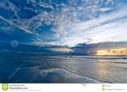 Beautiful Sunset On The Beach Royalty Free Stock ImageImage 1808